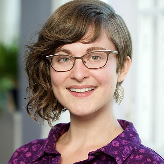 Front Desk Coordinator Emily Trenholm