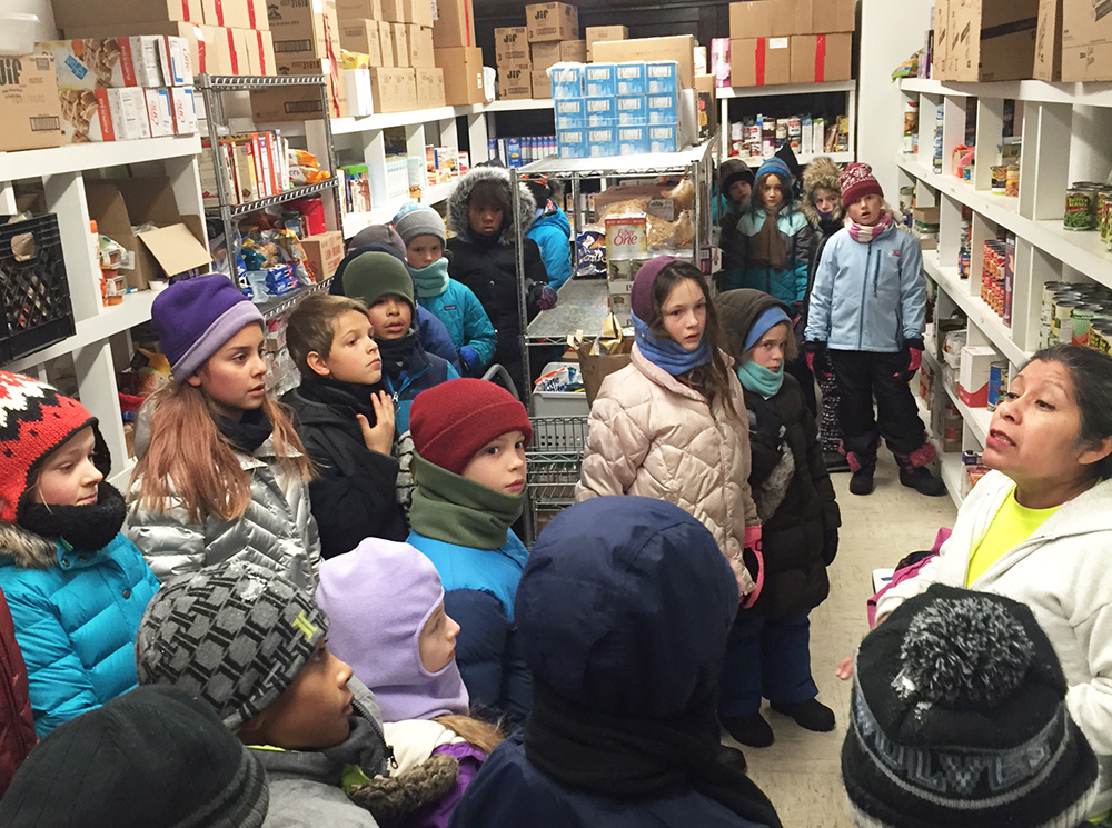 3rd and 4th grade food drive