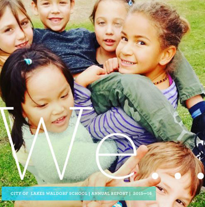 City of Lakes Waldorf School Annual Report 2016