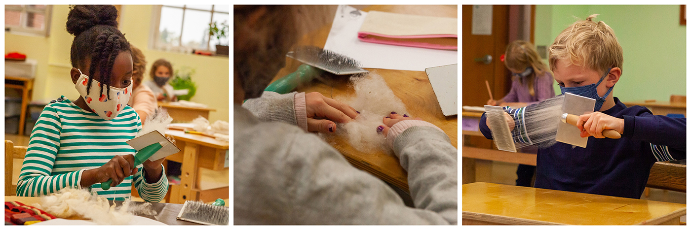 Hands on learning at City of Lakes Waldorf School