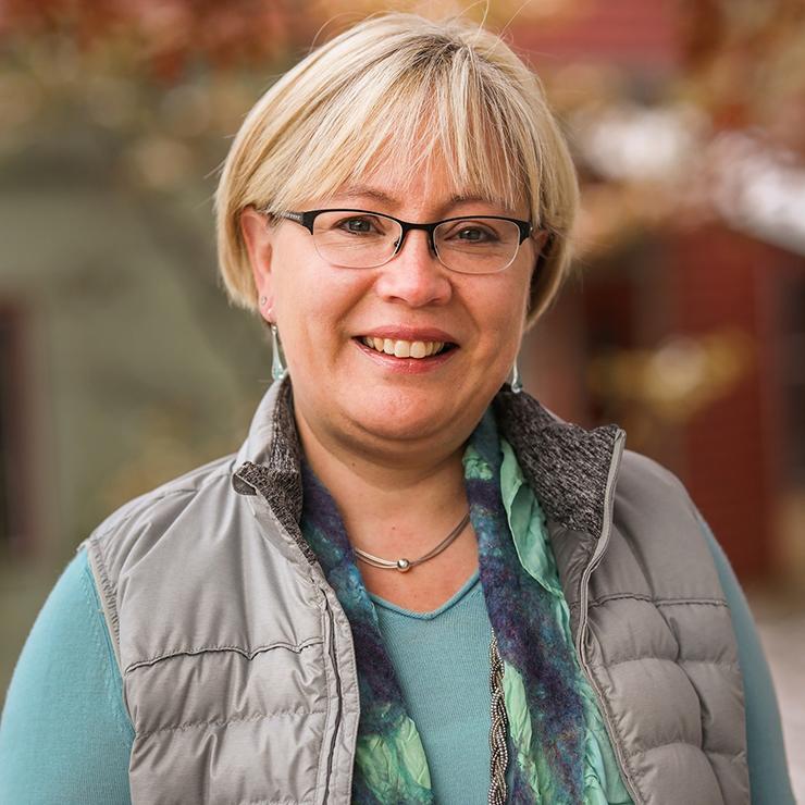 Faculty Chair Johanna Garcia